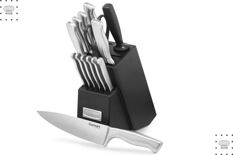 15-Piece Stainless Steel Knives Set