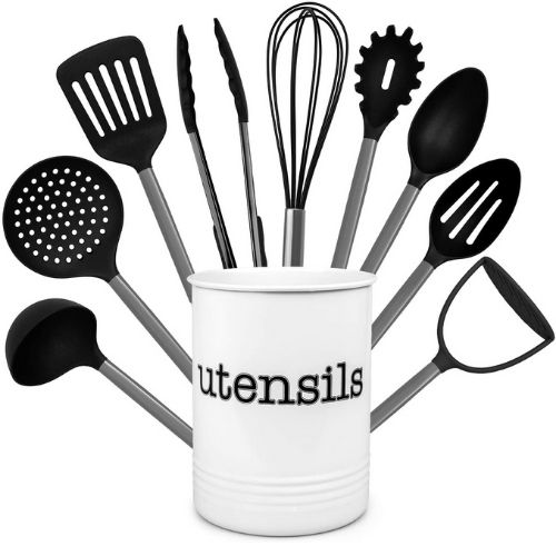 Country Kitchen  Nylon Cooking Utensil Set