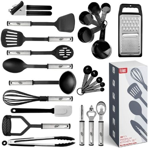23pcs Nylon Cooking Utensils Set made by Kaluns