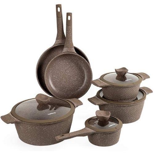 Carote Granit Nonstick Cookware Set