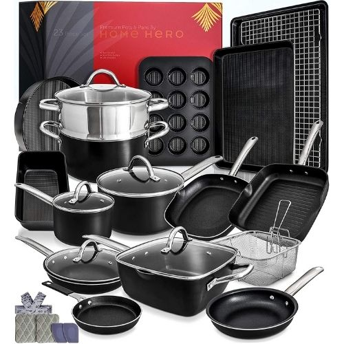 Home Hero 23pc Induction Cookware Set