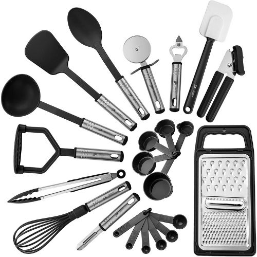 Nylon Cooking Utensils Set made by Lux Deco
